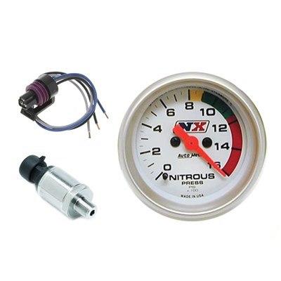 Elektroniczny manometr nitro z czujnikiem - GRUBYGARAGE - Sklep Tuningowy